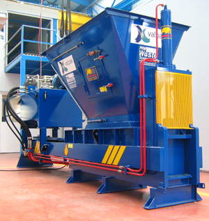 Imabe Single Ram Metal Baler