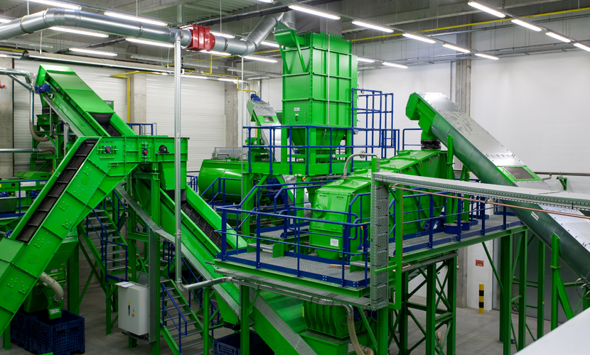Andritz WEEE Recycling Plants