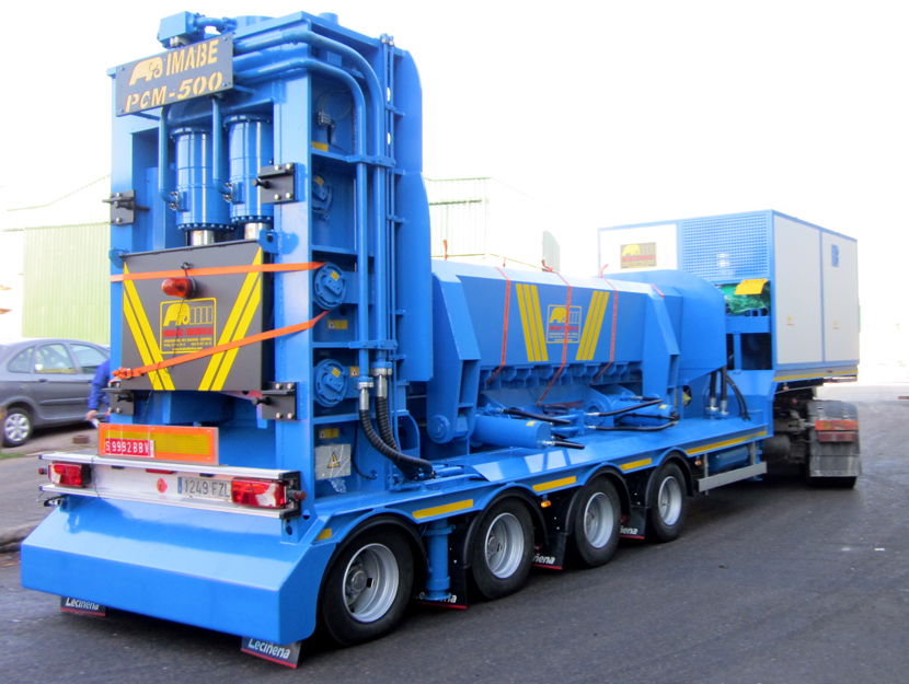 Imabe Fully Mobile Shear Baler