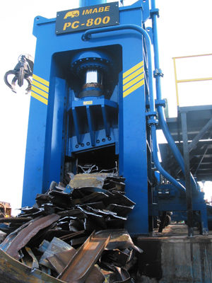 Imabe Pre-Compression Box Shear Baler