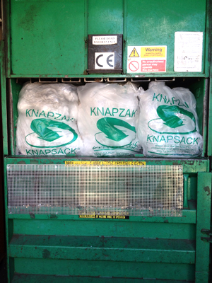 Knapzak - Cost Effective Source Segregation