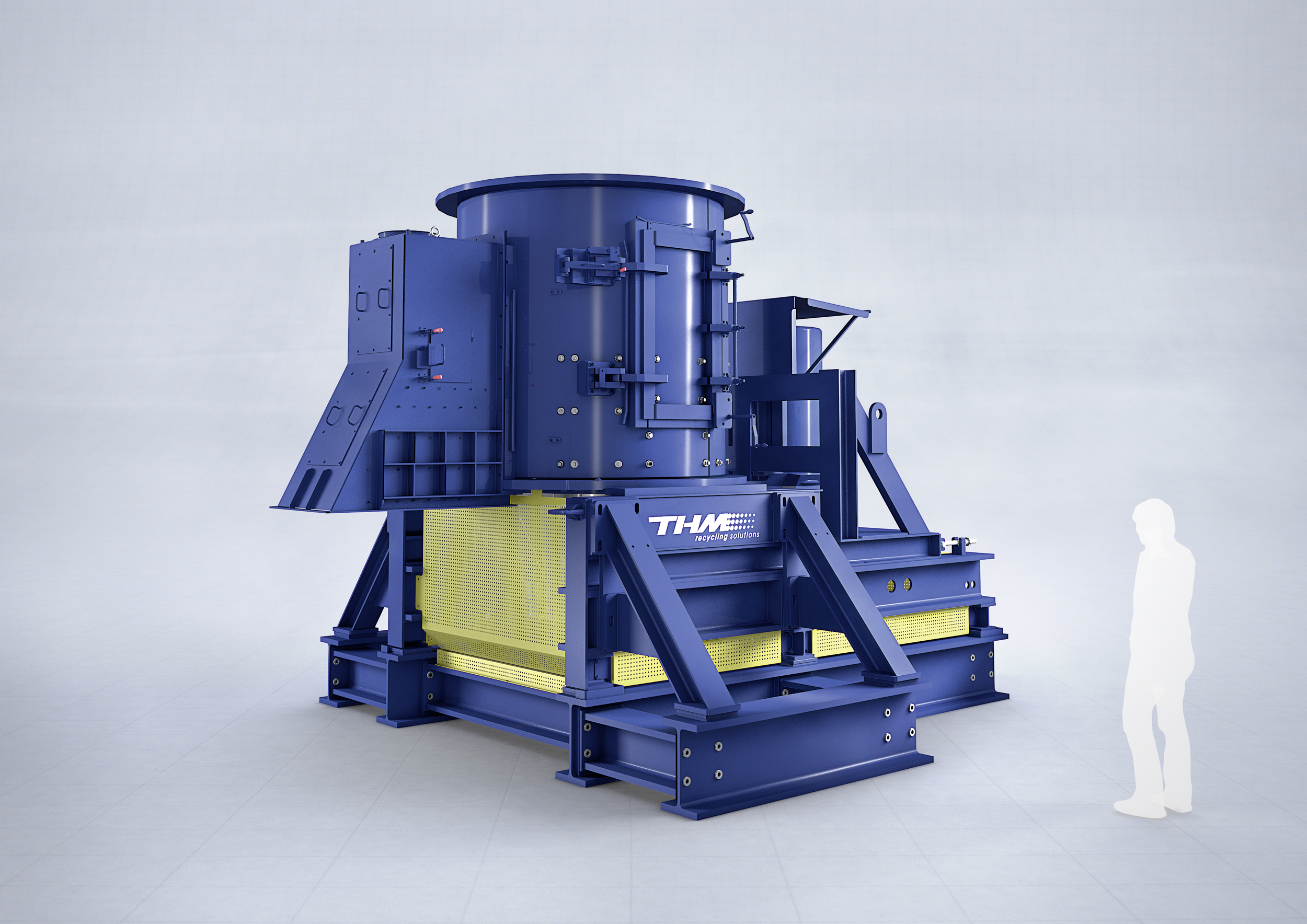 TQZ Turbo Crusher for Recycling Plant