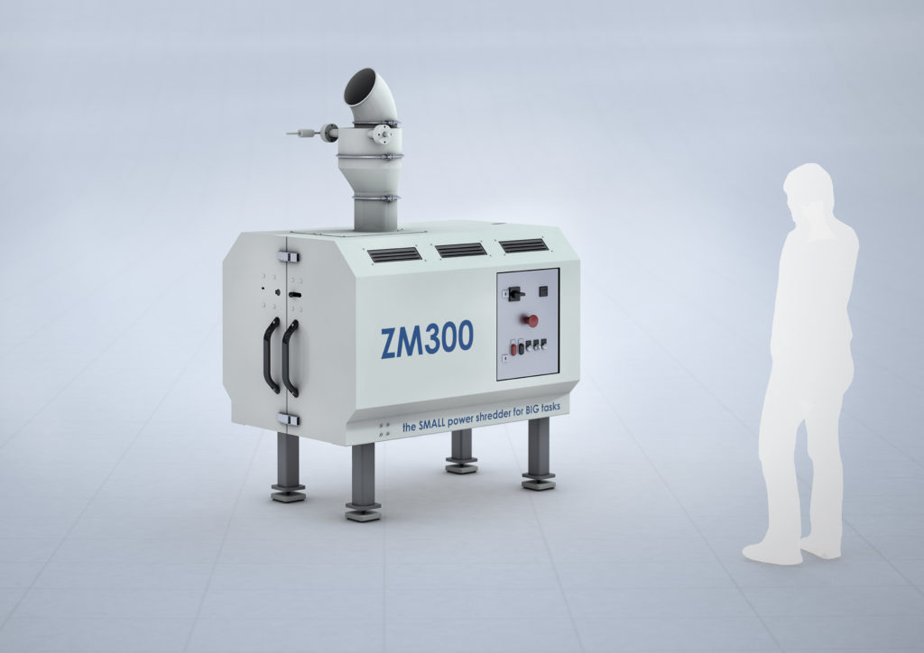 ZM300 Small Granulator